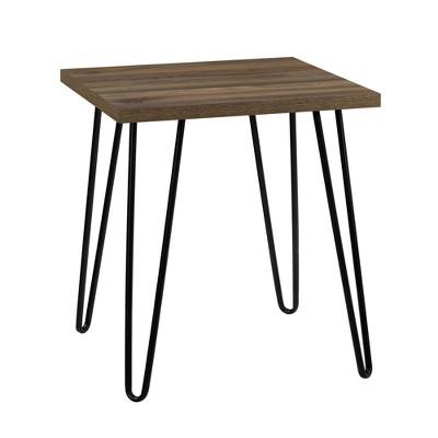 Heywood Retro Accent Table Walnut - Room & Joy