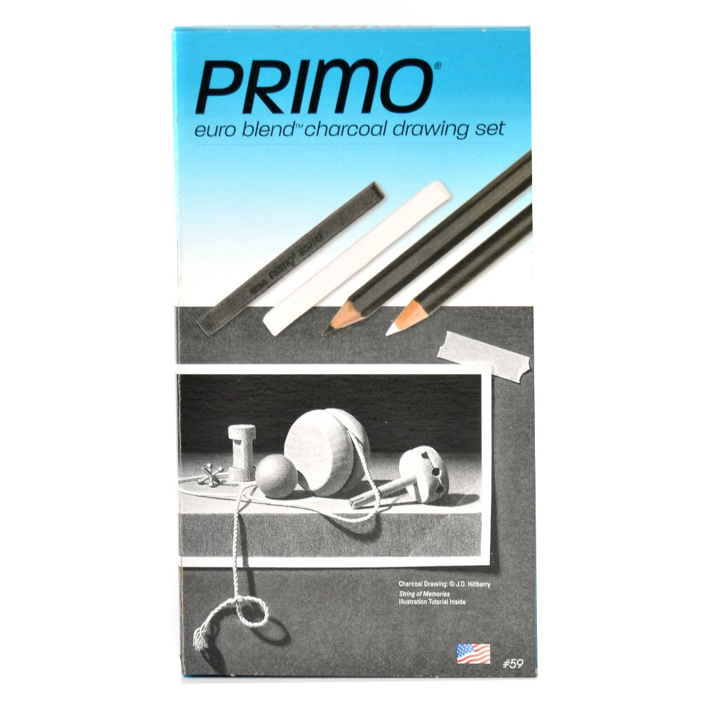 Image of Primo Euro Blend Charcoal Deluxe Set #59 - General's