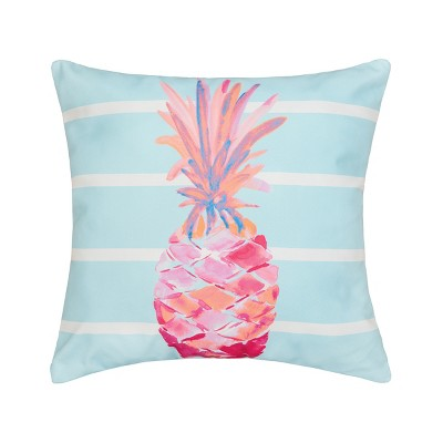 """C&F Home 18"""" x 18"""" Palm Beach Tropical Pineapple Indoor/Outdoor Decorative Throw Pillow"""