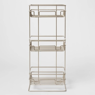 3 Tier Round Wire Shower Storage Tower - Made By Design™