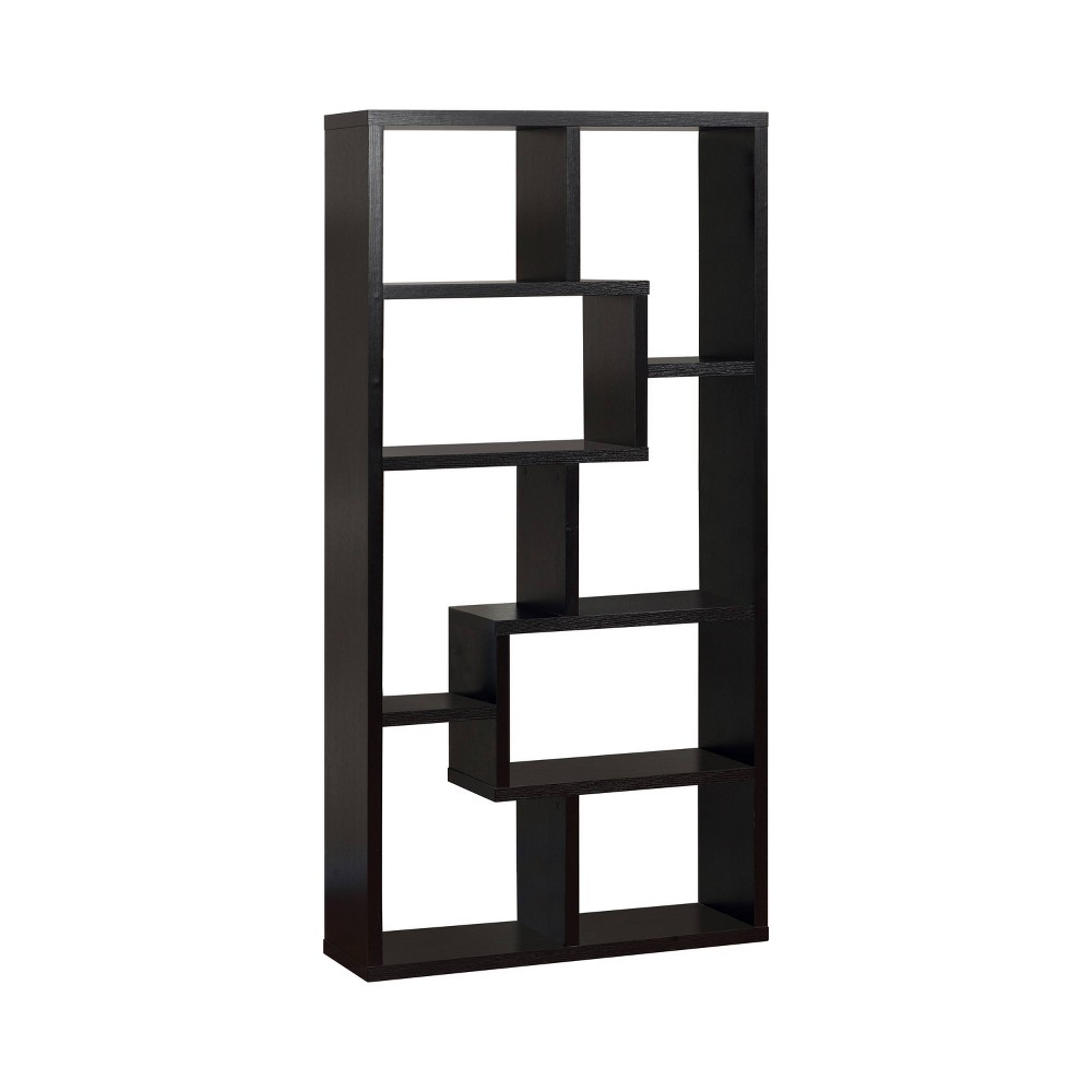 Highpoint Contoured 71 Bookcase Black - Homes: Inside + Out