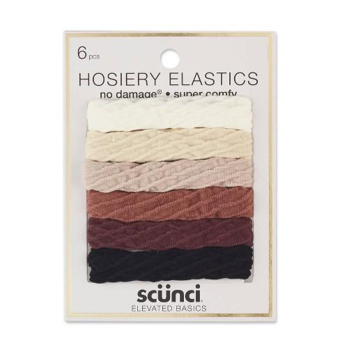 Scunci Hosiery Elastics - 6pk - image 1 of 4