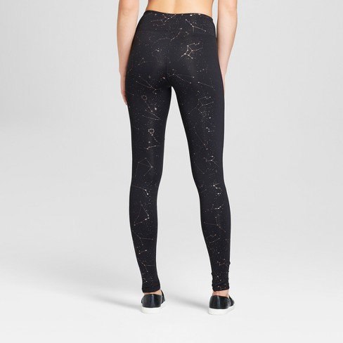 14d92f081063c7 Women's Performance Constellation Print Leggings - JoyLab™ Black S : Target