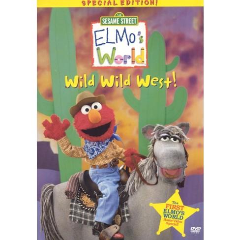 Sesame Street Elmo S World Wild Wild West Special Edition Dvd Video