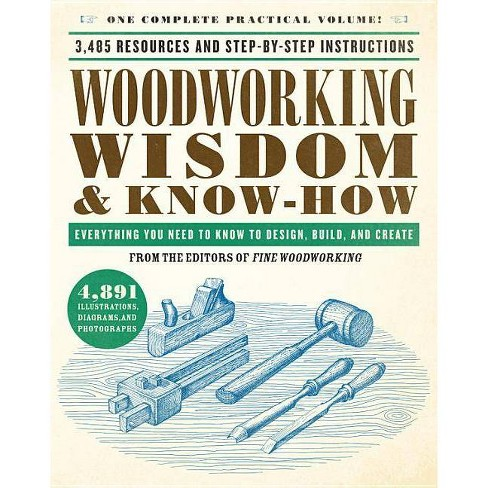 Woodworking Wisdom & Know-How - by  Taunton Press (Paperback) - image 1 of 1