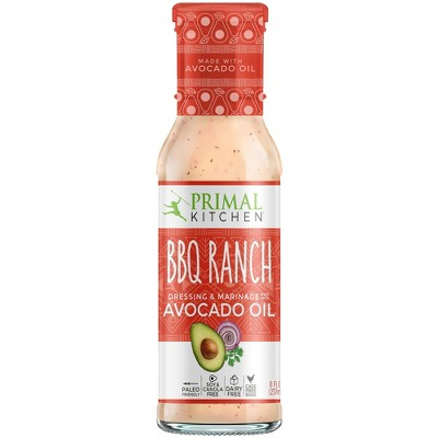Salad Dressing & Toppings: Primal Kitchen BBQ Ranch Dressing