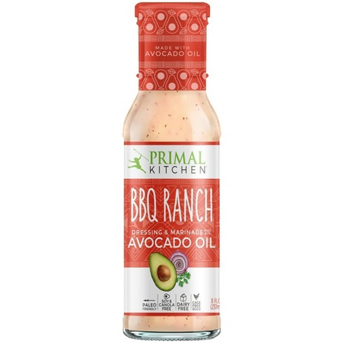 Primal Kitchen Dairy- Free Barbeque Ranch Dressing with Avocado Oil 8oz - image 1 of 4