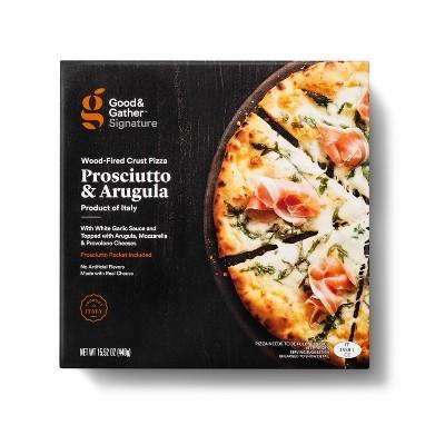 Signature Wood-Fired Prosciutto and Arugula Frozen Pizza - 15.52oz - Good & Gather™