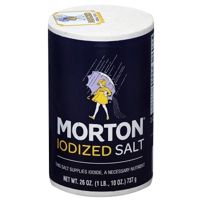 Morton® Iodized Salt - 26oz