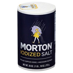 Morton Iodized Salt - 26oz