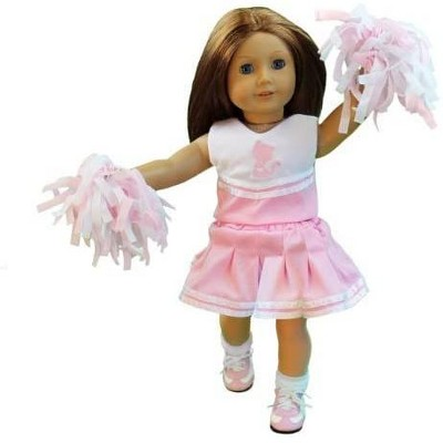 Dress Along Dolly Cheerleader Outfit for American Girl Doll