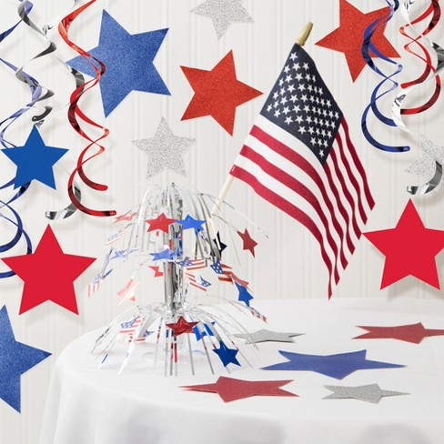 Patriotic Decorations Kit - image 1 of 4