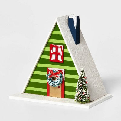 A-Frame House Building Decorative Figurine - Wondershop™