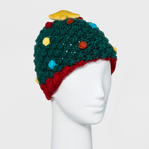 Women s Ugly Tree Hat - Green   Target ba2e41b1e9