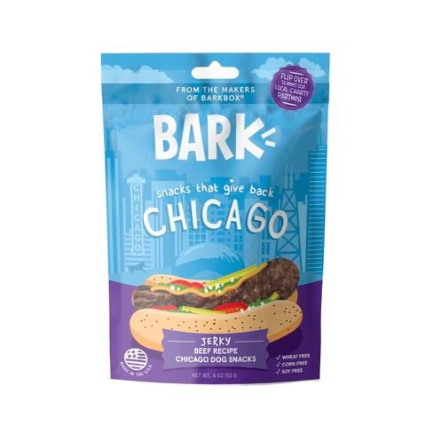 BARK Chicago Hot Dog - Beef Treat for Dog - 4oz - image 1 of 4