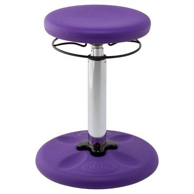 "Kore Adjustable Wobble Chair 16.5""--21.5"" - Purple"
