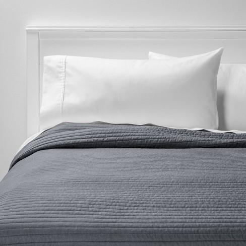 Garment Washed Microfiber Quilt - Room Essentials™ - image 1 of 3