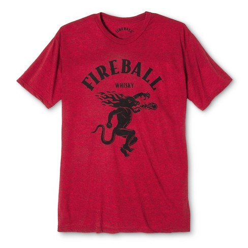 Men's Fireball Short Sleeve T-Shirt - Red Heather - image 1 of 1