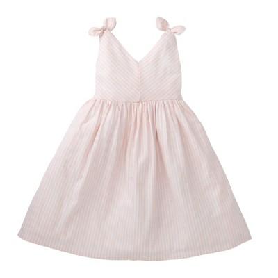 Hope & Henry Girls' Bow Shoulder Dress For Kids