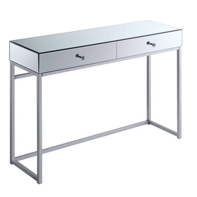 Reflections Console Table Mirror/Silver - Breighton Home