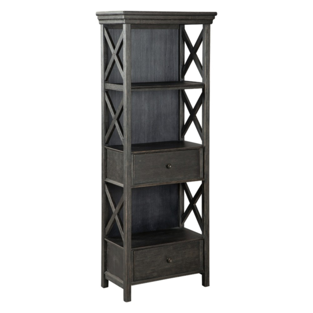 Tyler Creek Display Cabinet Brown/Black - Signature Design by Ashley