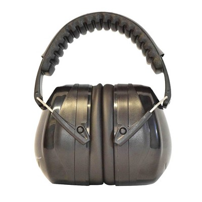 Professional Ear Defenders For Shooting Fits Adults To Kids - Black - G & F