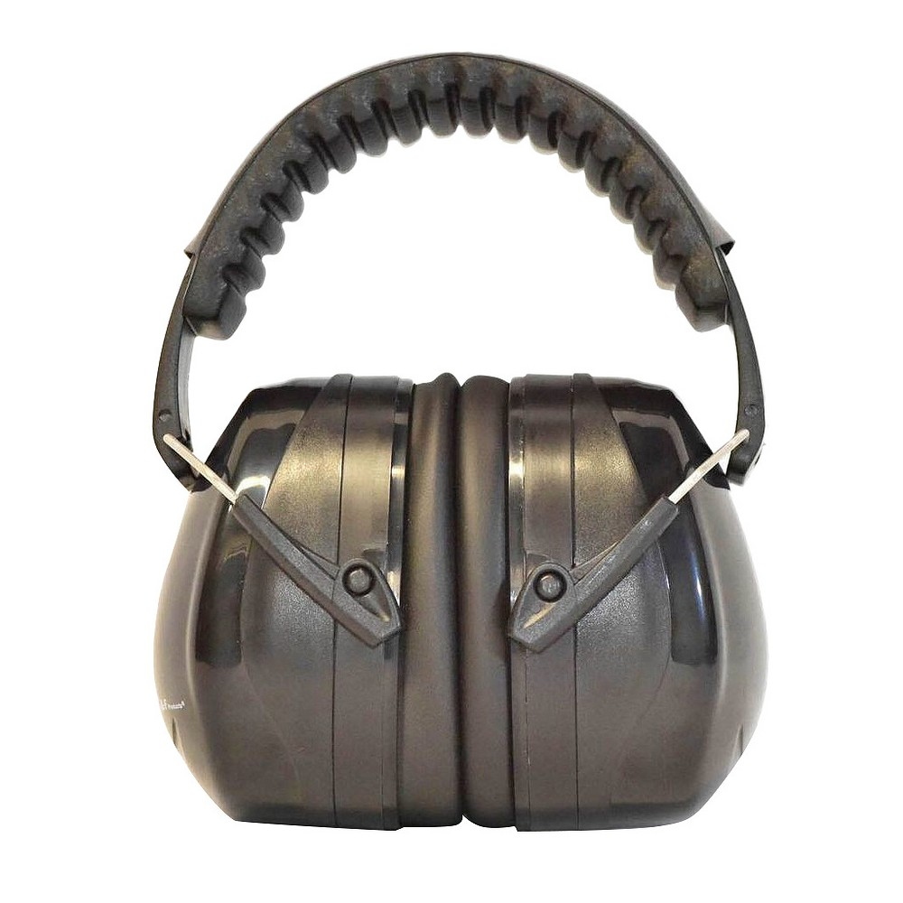Image of Professional Ear Defenders For Shooting Fits Adults To Kids - Black - G & F