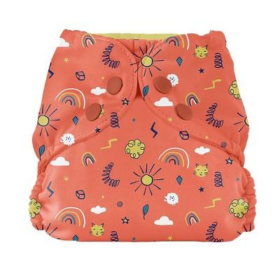 Esembly Outer Resusable Diaper Cover & Swim Diaper - Positivity Parade - Size 1