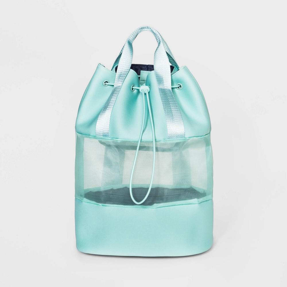 Image of Drawstring Backpack - Shade & Shore Green