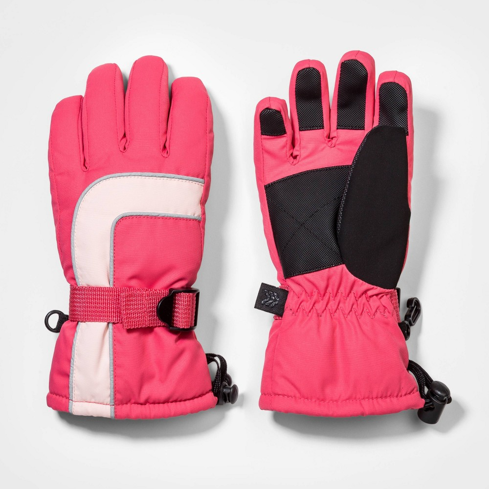 Best Girls' Ski Gloves with Reflective Piping - All in Motion™