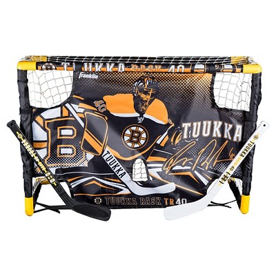 Franklin Sports Tuukka Rask Mini Hockey Set
