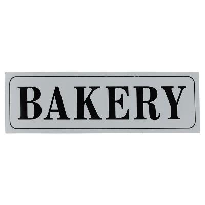 """Bakery Wall Décor White (33""""x10"""") - VIP Home & Garden"""
