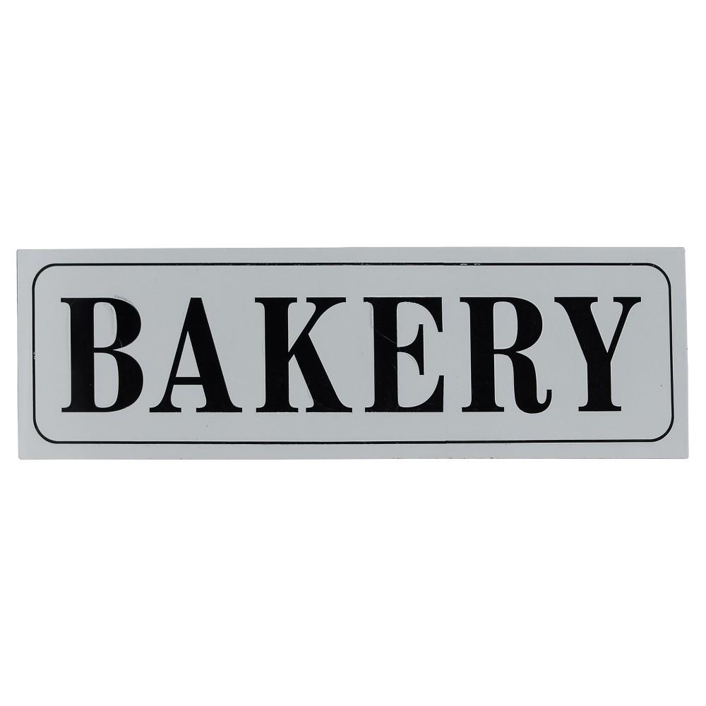 "Image of ""Bakery Wall Décor White (33""""x10"""") - VIP Home & Garden"""