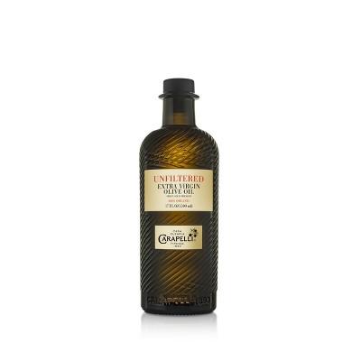Carapelli Organic Unfiltered Extra Virgin Olive Oil - 17oz