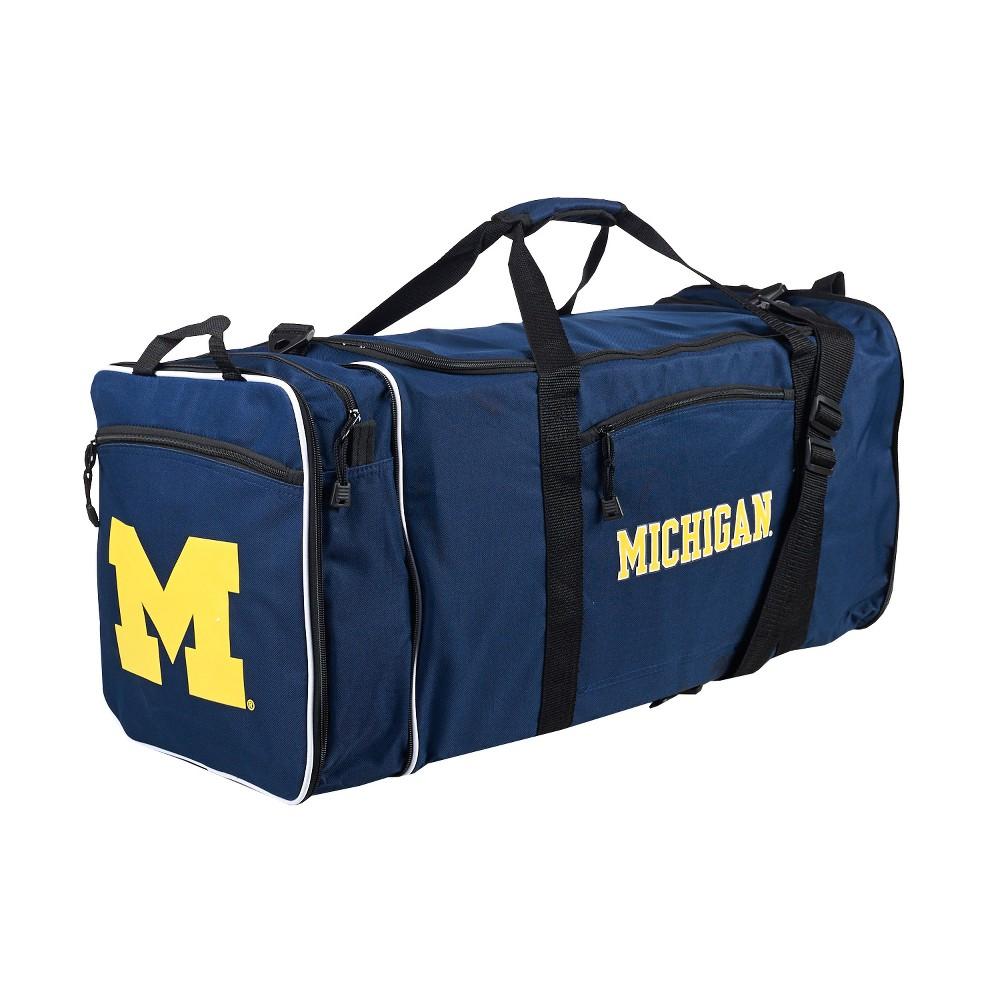 NCAA Michigan Wolverines Expandable Duffel Bag