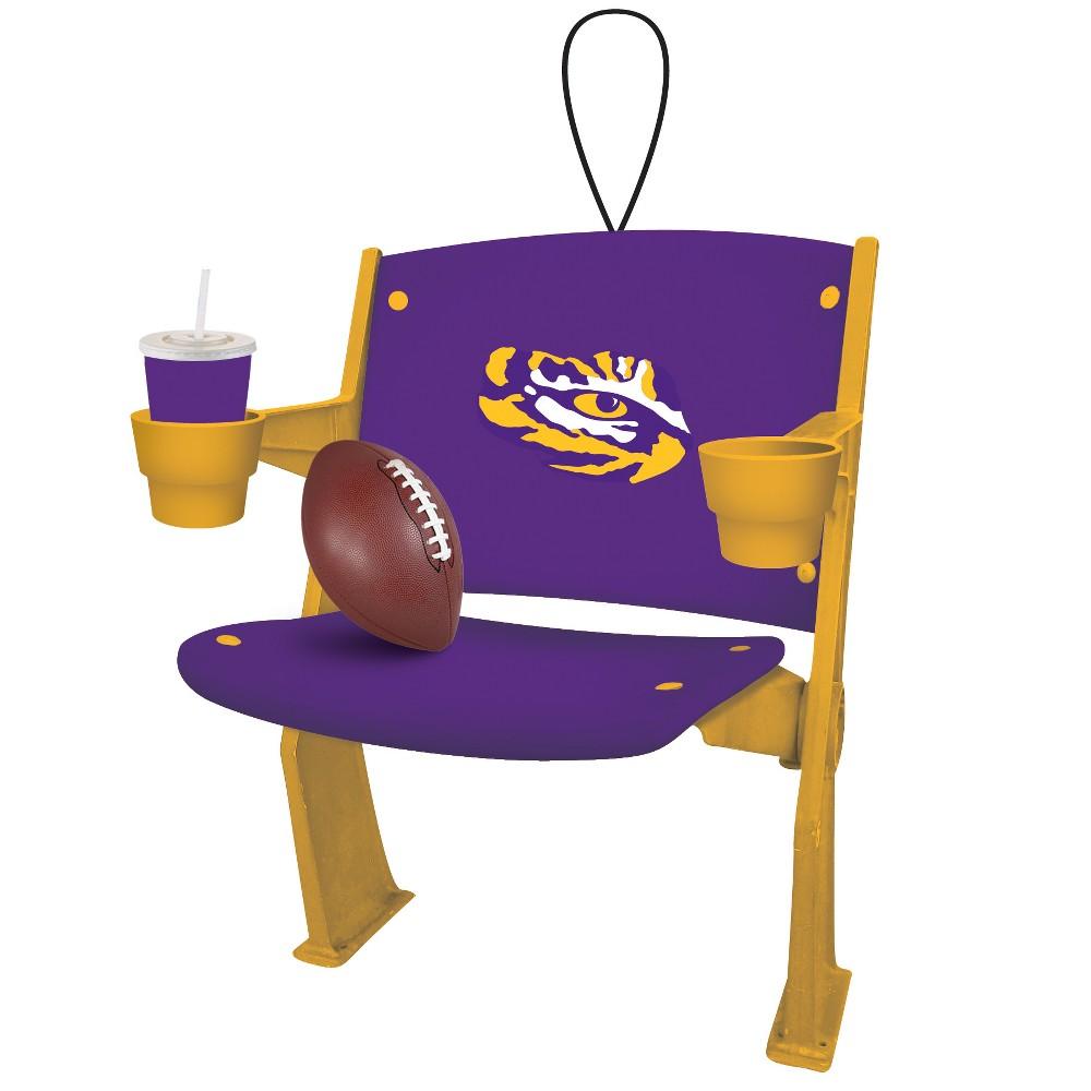 NCAA Lsu Tigers Chair Ornament, Purple/Gold