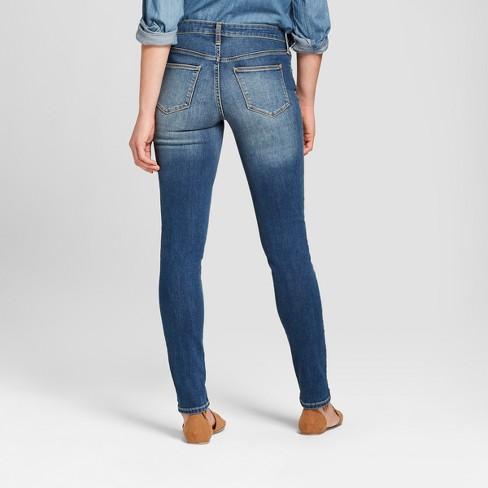ea3a77df9a69 Women s Mid-Rise Skinny Jeans - Universal Thread™ Medium Wash   Target