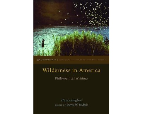 Wilderness in America : Philosophical Writings (Hardcover) (Henry Bugbee) - image 1 of 1