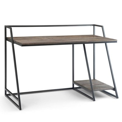 """52"""" Ellery Desk Carbon Stain - Wyndenhall"""