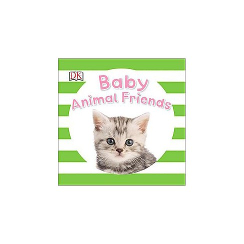 Baby Animal Friends - (Baby Sparkle) (Board_book) - image 1 of 1