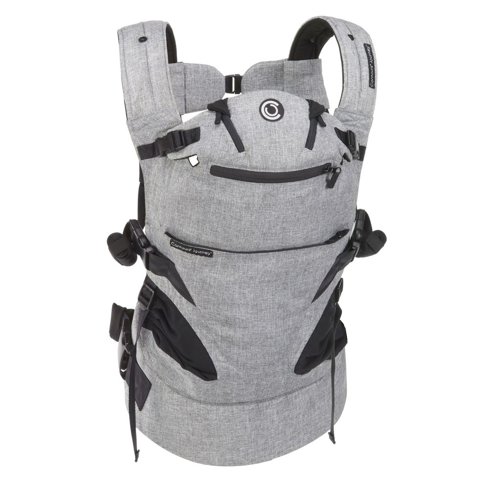 Image of Contours Journey 5-in-1 Baby Carrier- Gray