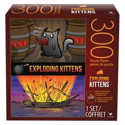 300pc Exploding Kittens Puzzle