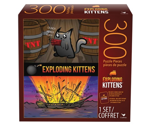 300pc Exploding Kittens Puzzle Buy Online In Barbados