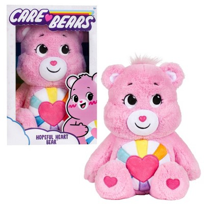 "Care Bears Hopeful Heart Bear 14"" Medium Plush Stuffed Animal"