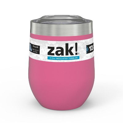 Zak Designs 11.5oz Double Wall Tumbler - Rose