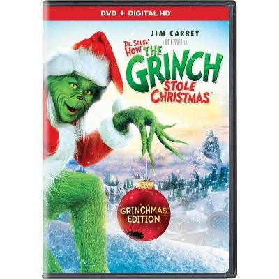 Dr. Seuss' How the Grinch Stole Christmas (DVD + Digital)