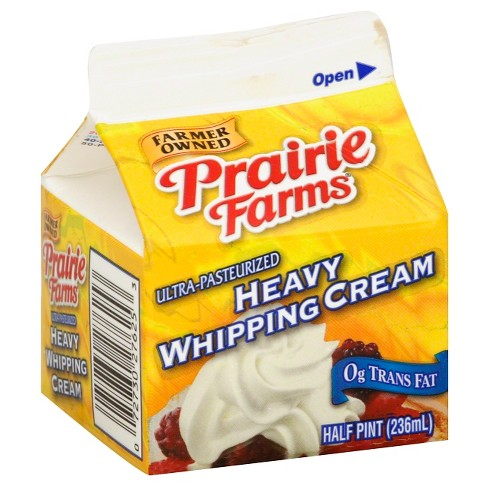 Prairie Farms Heavy Whipping Cream - 0.5pt - image 1 of 1