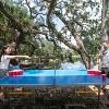 Stiga Vapor Outdoor Table Tennis Table - image 4 of 4