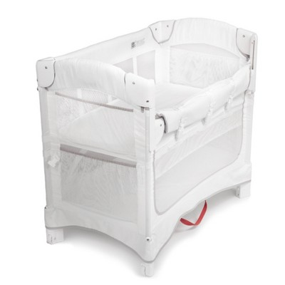 Arm's Reach Mini Ezee 2-in-1 Co-Sleeper Bassinet - White