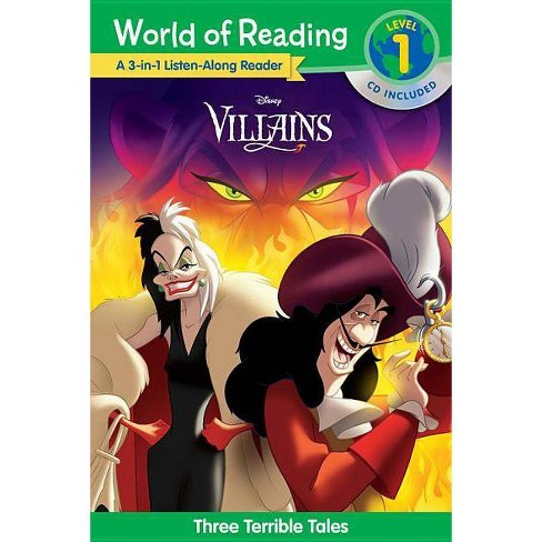 Villains 3-in-1 Listen-Along L1 - image 1 of 1